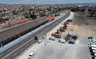 Balıkesir'de gar yolu açıldı