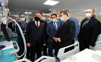 Amasya'da yeni yoğun bakım ünitesi açıldı