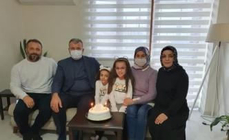 Başkan Elbi'den sürpriz doğum günü kutlaması