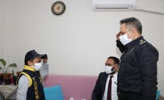 Kanser hastası Berkay'ın polis olma hayali gerçek oldu