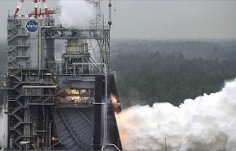 Ay seferlerinde kullanılacak roket motoru test edildi