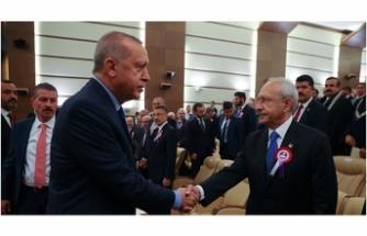 Erdoğan, Anayasa Mahkemesinin kuruluşunun 57'nci yıl dönümü törenine katıldı