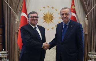 Erdoğan eski AB Komisyonu Başkanı Barroso'yu kabul etti