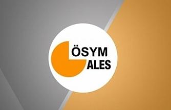 Sabırsızlıkla beklenen ALES sınav belgeleri yayınlandı!
