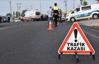 Eyüpsultan'da trafik kazasında bir polis şehit oldu