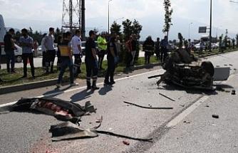 Bursa'da kazada hayatını kaybeden 2 kişi toprağa verildi