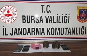 Bursa'da tarihi eser niteliğinde iki İncil ele geçirildi
