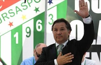 Bursaspor'un yeni başkanı Mesut Mestan oldu