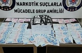Akçay'da uyuşturucu operasyonu