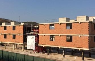 'Karbon elyaf'lı bina depreme daha dayanıklı