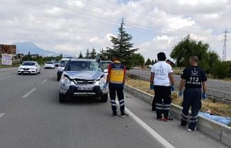 Konya'da cipin çarptığı bisiklet sürücüsü öldü