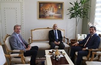 Rektör Murat'tan Vali Tavlı'ya ziyaret