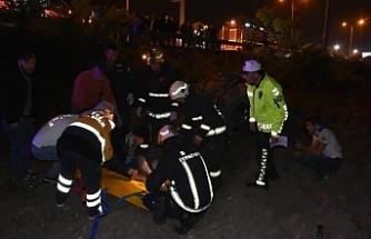 Bursa'da otomobil takla atmıştı! Yaralı genç 97 gün sonra...