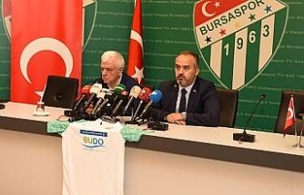 Bursaspor'a 'BÜYÜK' destek