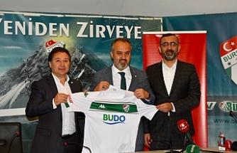 Bursaspor'a Büyükşehir ile destek