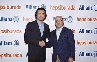 Hepsiburada, Allianz Sigorta ile iş birliğini duyurdu