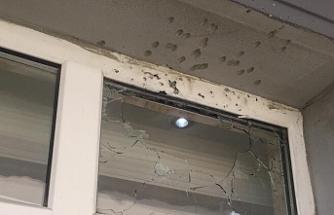 Belediye binasına pompalı tüfek