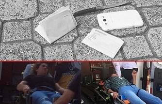 Eşini ve baldızını sokak ortasında bıçakladı