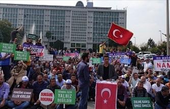 İşten çıkarılan işçilerden Barış Pınarı Harekatı'na destek
