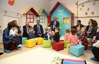 Karabük'te Türkiye'nin ilk 'bebek kütüphanesi' açıldı