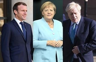 Macron, Merkel ve Johnson Cumhurbaşkanı Erdoğan ile görüşecek