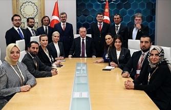 Erdoğan uçakta gazetecilere açıklamalarda bulundu