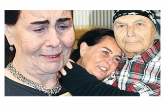Fatma Girik'in gözyaşları
