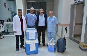 Organları, 3 hastaya nakledildi