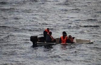 5 kişi Sahil Güvenlik'e teslim edildi