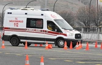 Ambulans Sürüş Teknikleri yarışması