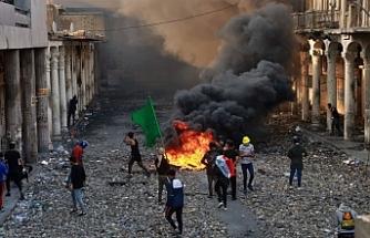 Bağdat'ta kanlı gece! 7 ölü