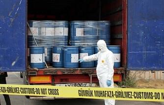18,4 ton siyanür ele geçirildi