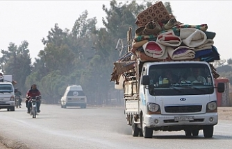 İdlib'de 25 bin sivil yerlerinden edildi!