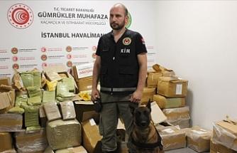 İstanbul'da 1 ton 745 kilogram 'uyuşturucu' ele geçirildi