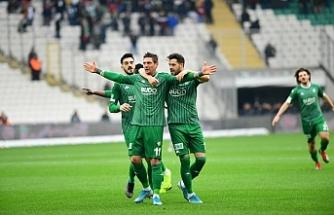 Bursaspor deplasmanda Akhisarspor'un konuğu