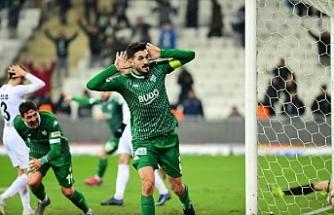 Bursaspor'un yüzü son dakikalarda gülüyor