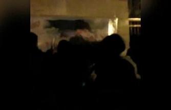 İran'da düşen uçakta ölenleri anma töreni, rejim karşıtı protestolara dönüştü