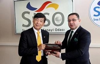 Japonya Büyükelçisi Miyajima'dan Sivas ziyareti