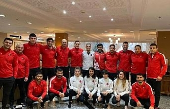 Milli judocular, GrandPrix için İsrail'de