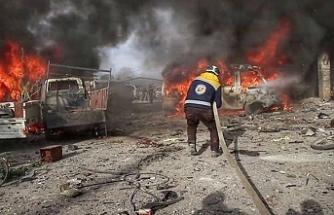 Yangın yeri İdlib