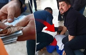 Antalya'da akılalmaz olay! Paraları sokağa saçtı