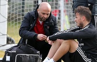Beşiktaş'ta Ljajic çalışmaya katılamadı