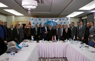 Bursa'da, DATÜB Türkiye Temsilcileri Buluşması İstişare Toplantısı yapıldı