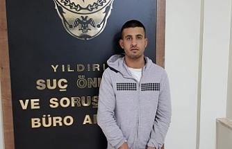 Bursa'daki çarşaflı gaspçılar yakalandı