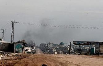 İdlib'in köylerinde şiddetli çatışmalar