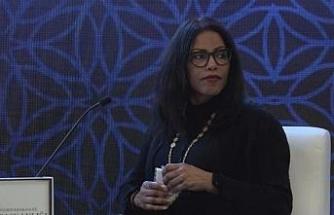 Malcolm X'in kızı Shabazz, İstanbul'da konferansa katıldı