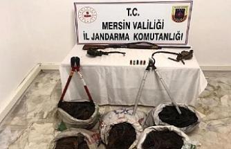 Mersin'de kablo hırsızları yakalandı