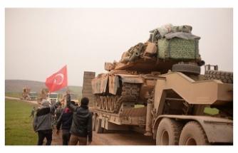 Suriye sınırına askeri araç ve polis takviyesi