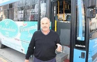 Yol verme kavgasında otobüs şoförünü darbetti (2)