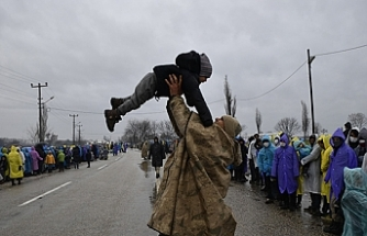 Göçmenlerin 'umut nöbeti' sona erdi